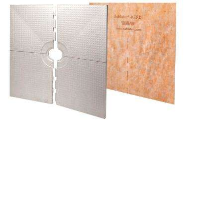 Kerdi-Shower 72 in. x 72 in. Shower Tray