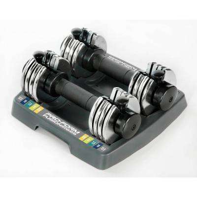 25 lbs. Pair Select-A-Weight Dumbbell