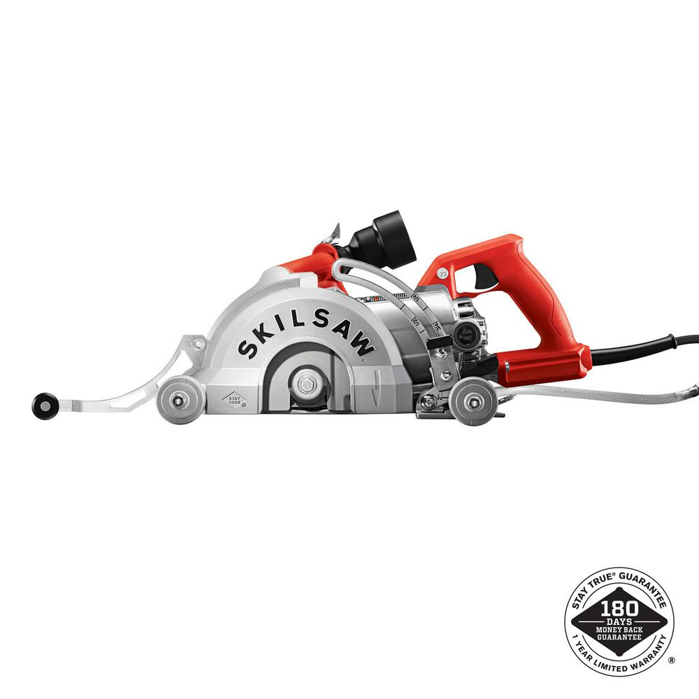 7 in. 15 Amp Corded Medusaw Aluminum Worm Drive Circular Saw