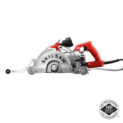15 Amp Corded 7 in. Medusaw Aluminum Worm Drive Circular Saw for Concrete