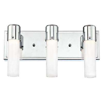 Blake 120-Watt Chrome Integrated LED Wall Mount Bath Light