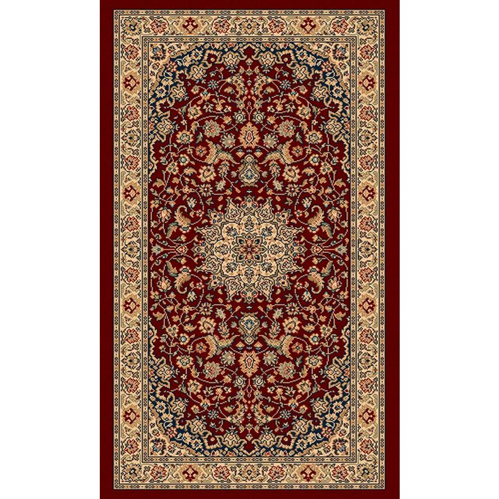 Balta US Classical Manor Red 2 ft. x 3 ft. 5 in. Accent Rug