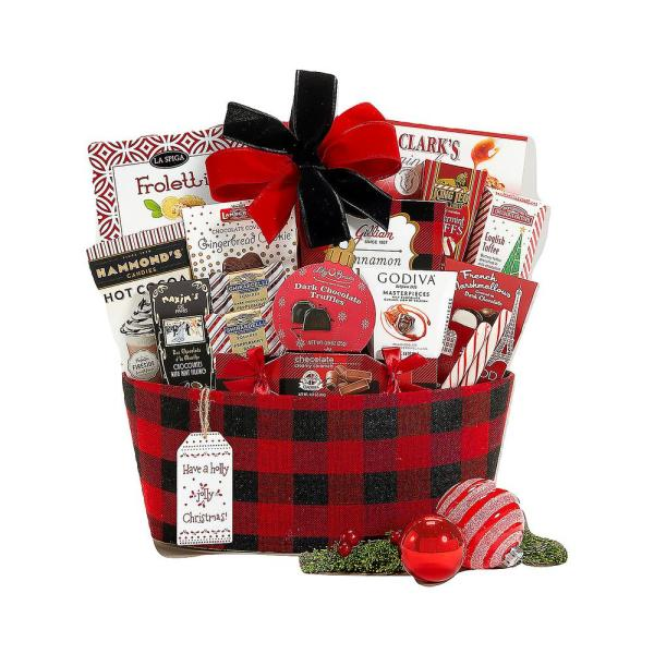 Wine Country Gift Baskets Happy Holidays Gift Basket 537