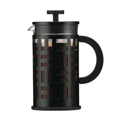Eileen 8-Cup Black French Press Coffee Maker