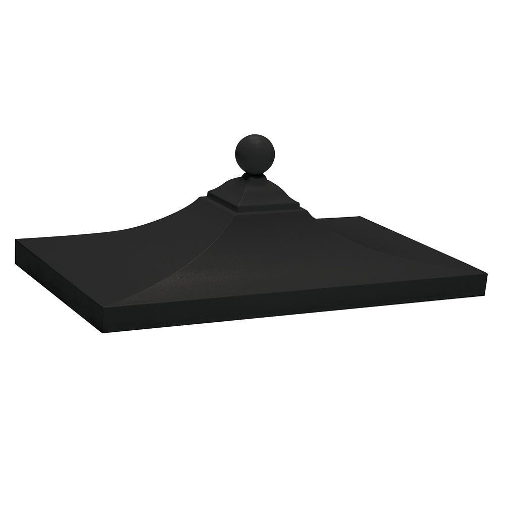 3300R Series Regency Decorative Top in Black