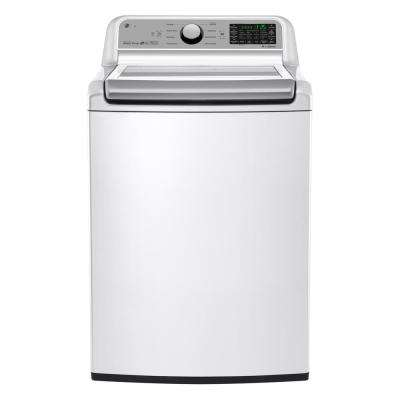 5.0 cu. ft. Smart Top Load Washer with Wi-Fi Enabled in White, ENERGY STAR
