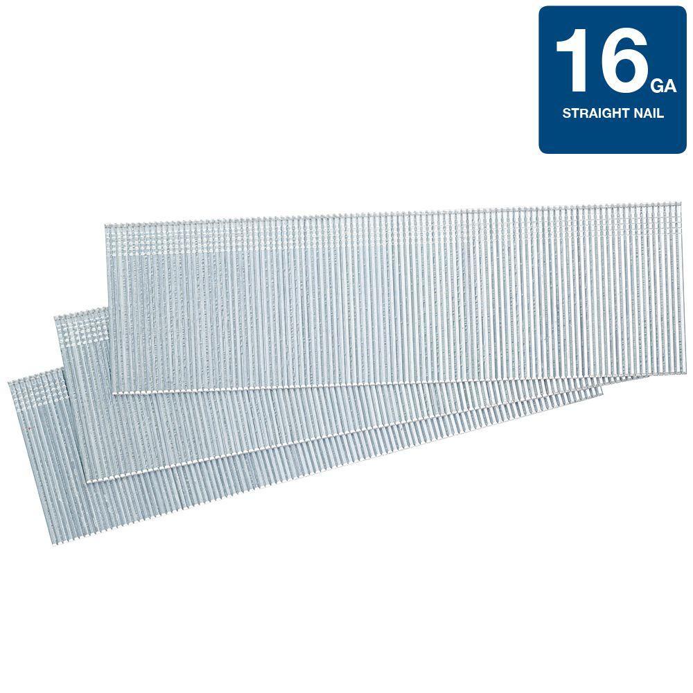 Senco 18 Ga Smooth Shank Straight Strip Brad Nails 1in L x 005in Dia 1000