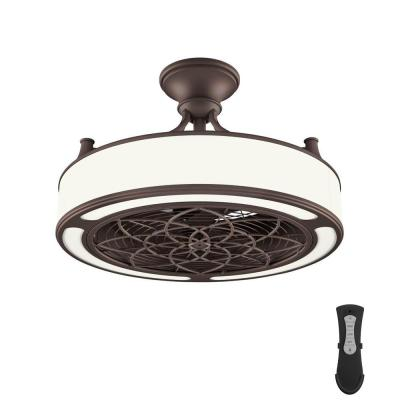 Led Indoor Outdoor Bronze Ceiling Fan
