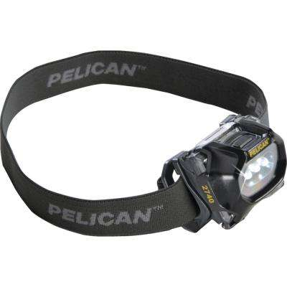 027400-0101-110 66-Lumen 2740 LED Adjustable Headlamp in Black