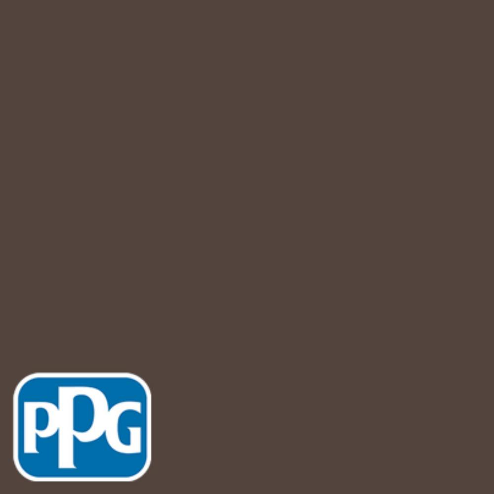 Ppg Timeless 1 Gal Hdppgwn13u Authentic Brown Satin Exterior One Coat Paint With Primer
