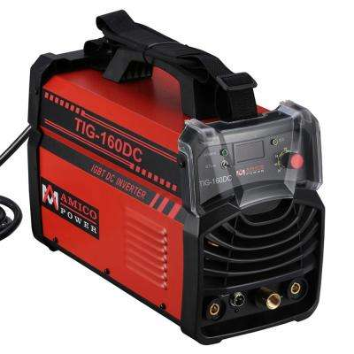 Amico 160 Amp TIG Torch arc Stick DC Inverter Welder 110/230-Volt Dual Voltage Welding Machine