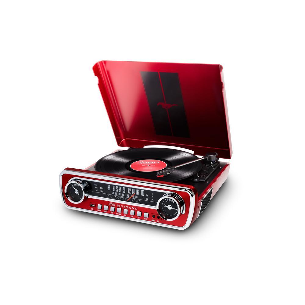 Mustang LP, Red
