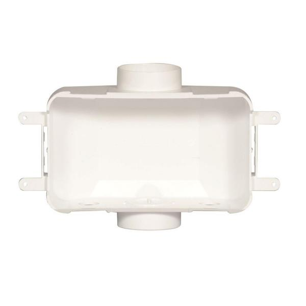 3-1/2 in. Center Drain Washing Machine Outlet Box