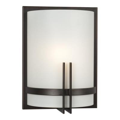 Negron 1-Light Oil-Rubbed Bronze Incandescent Sconce