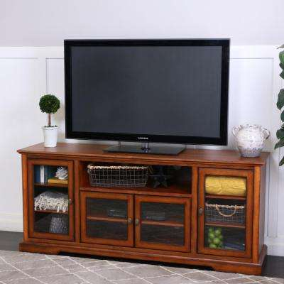 Rustic Brown Entertainment Center