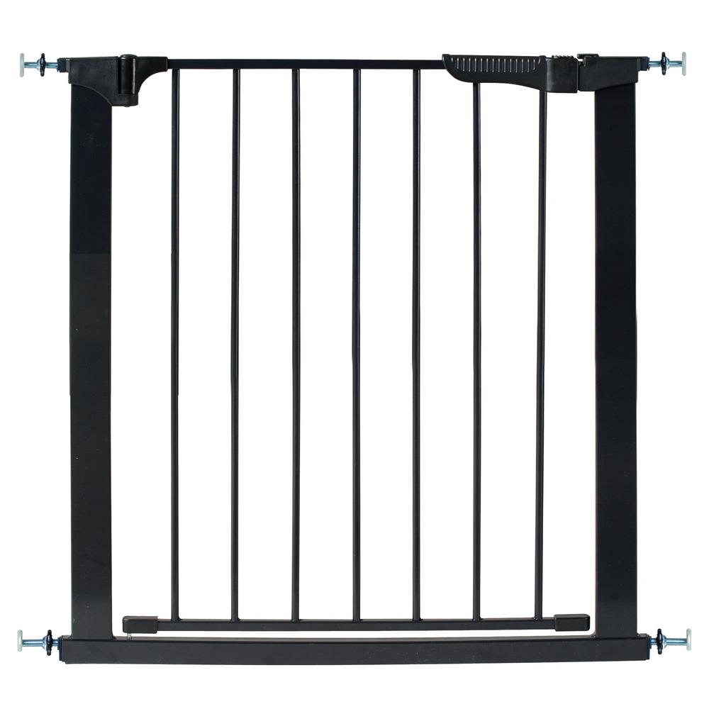 Kidco Auto Close Gateway Pressure Mount Installation Magnetic Gate Close Black