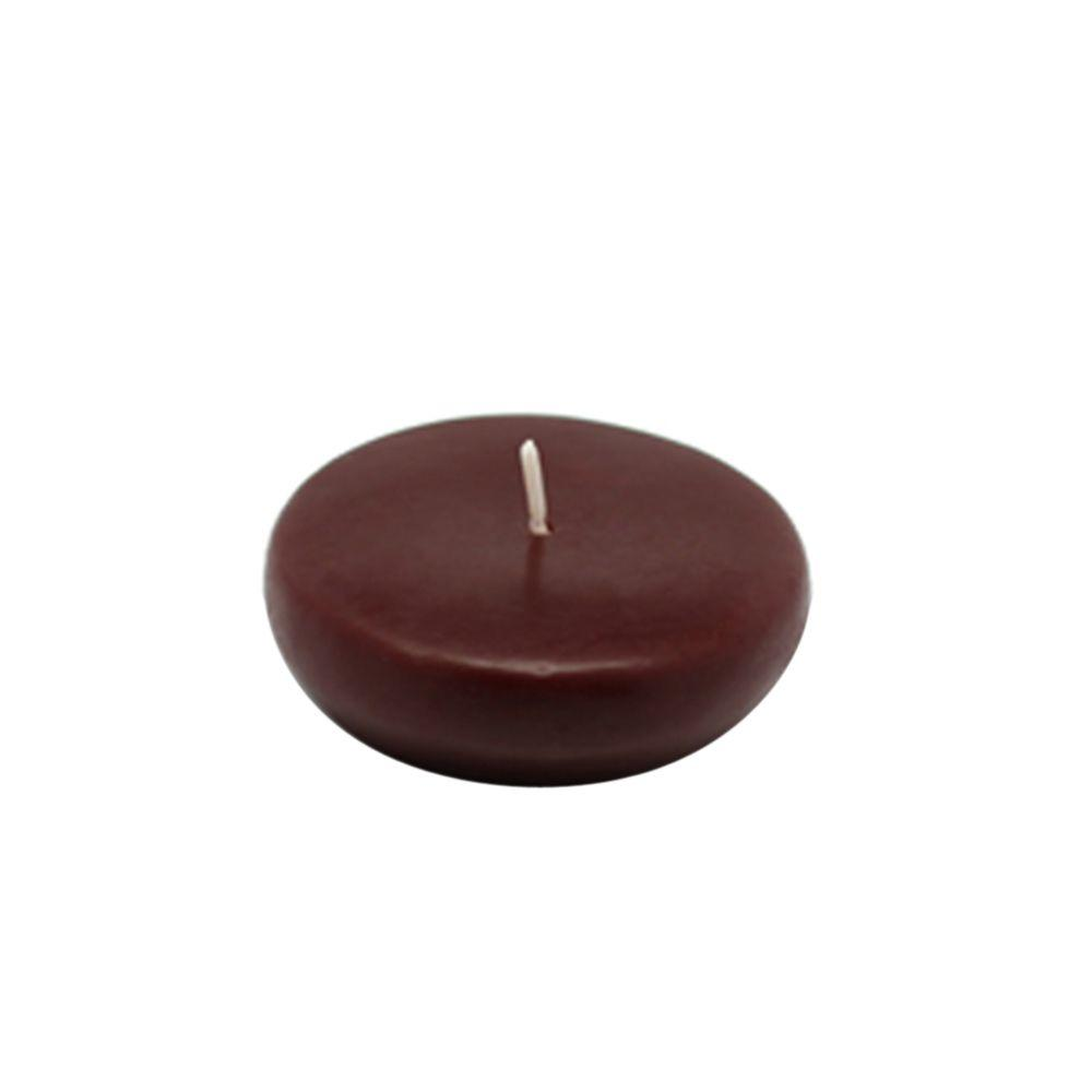 2.25 in. Brown Floating Candles (Box of 24)