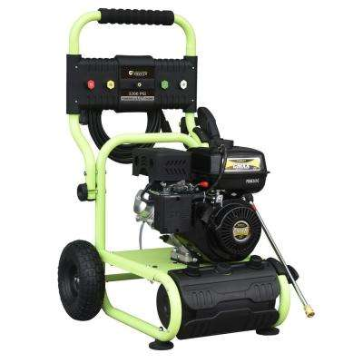 3200 psi 2.4 GPM Cam Pump Gas Pressure Washer Carb Compliant