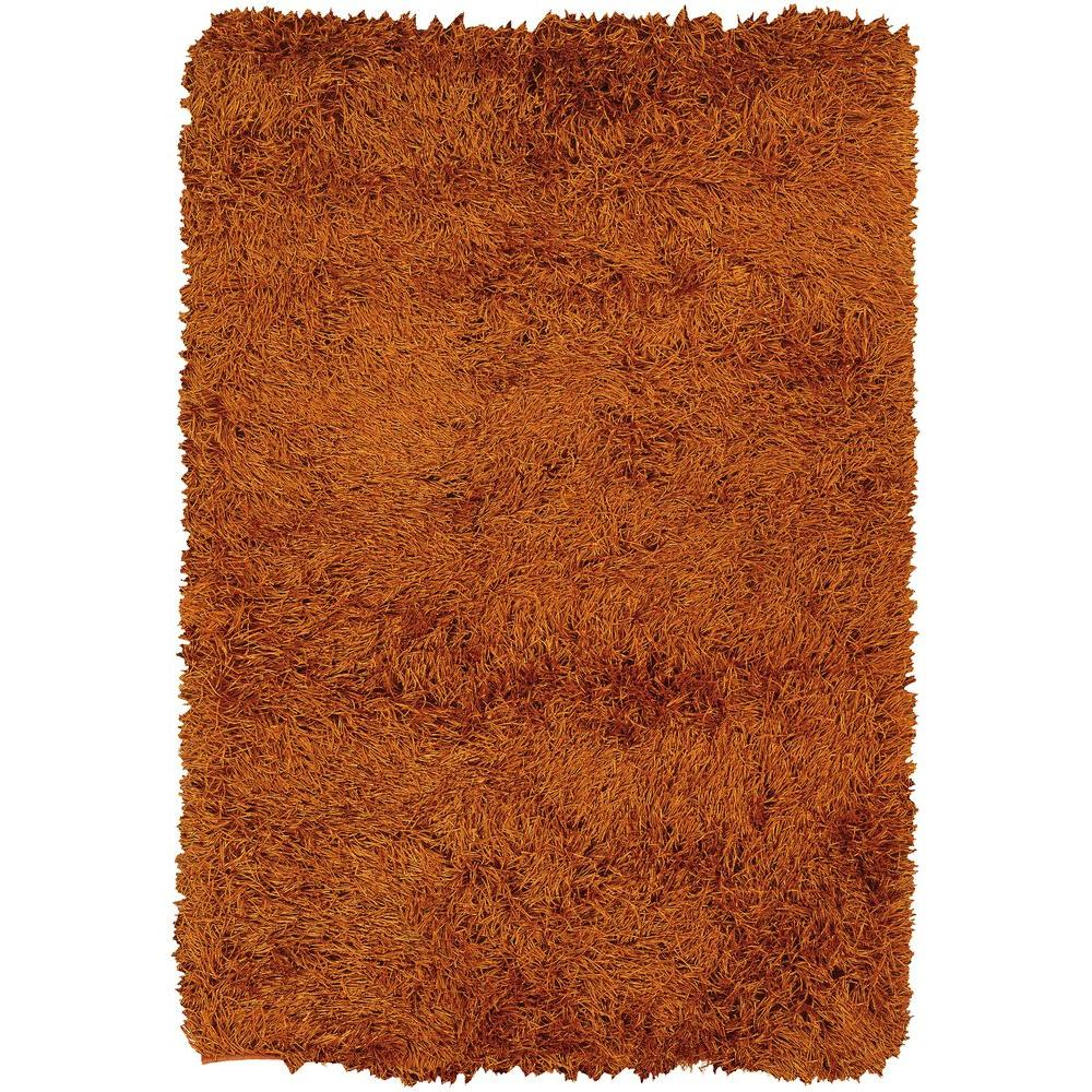 Duke Orange/Rust 9 ft. x 13 ft. Indoor Area Rug