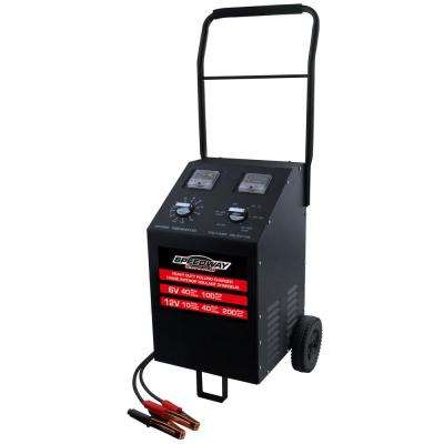 100 Amp Rolling Battery Charger
