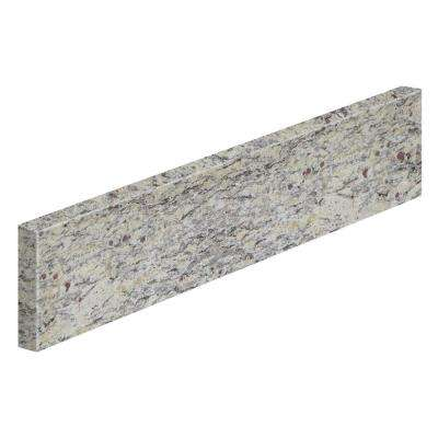 21 in. Granite Sidesplash in Santa Cecilia