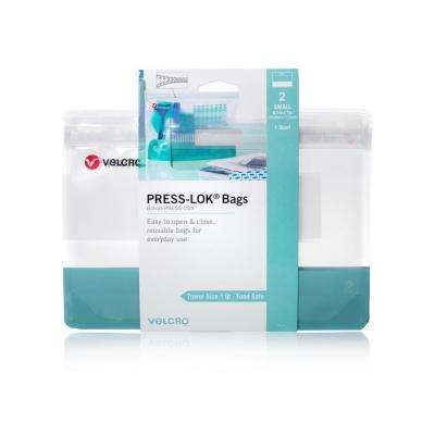 PRESS-LOK Small Reusable Bags (2-Count)