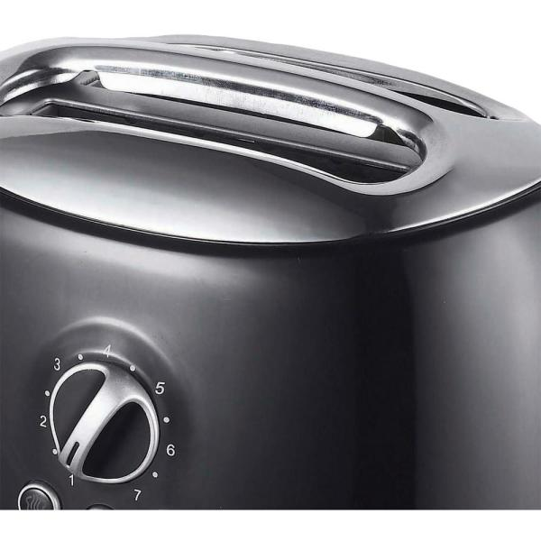 Brentwood Wide Slot Cool Touch 2-Slice Toaster Red