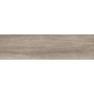 Rainer Taupe 9 in. x 47 in. Glazed Porcelain Floor and Wall Tile (18 sq. ft. / case)
