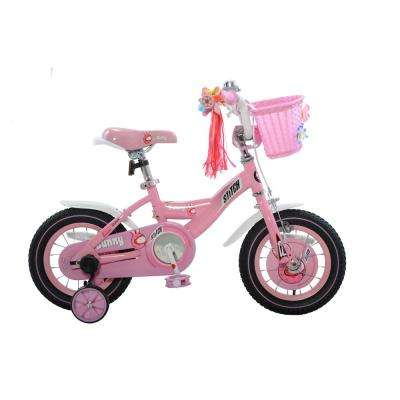 Bunny Girl's Bike, 12 in. wheels, 8 in. frame in Pink/White