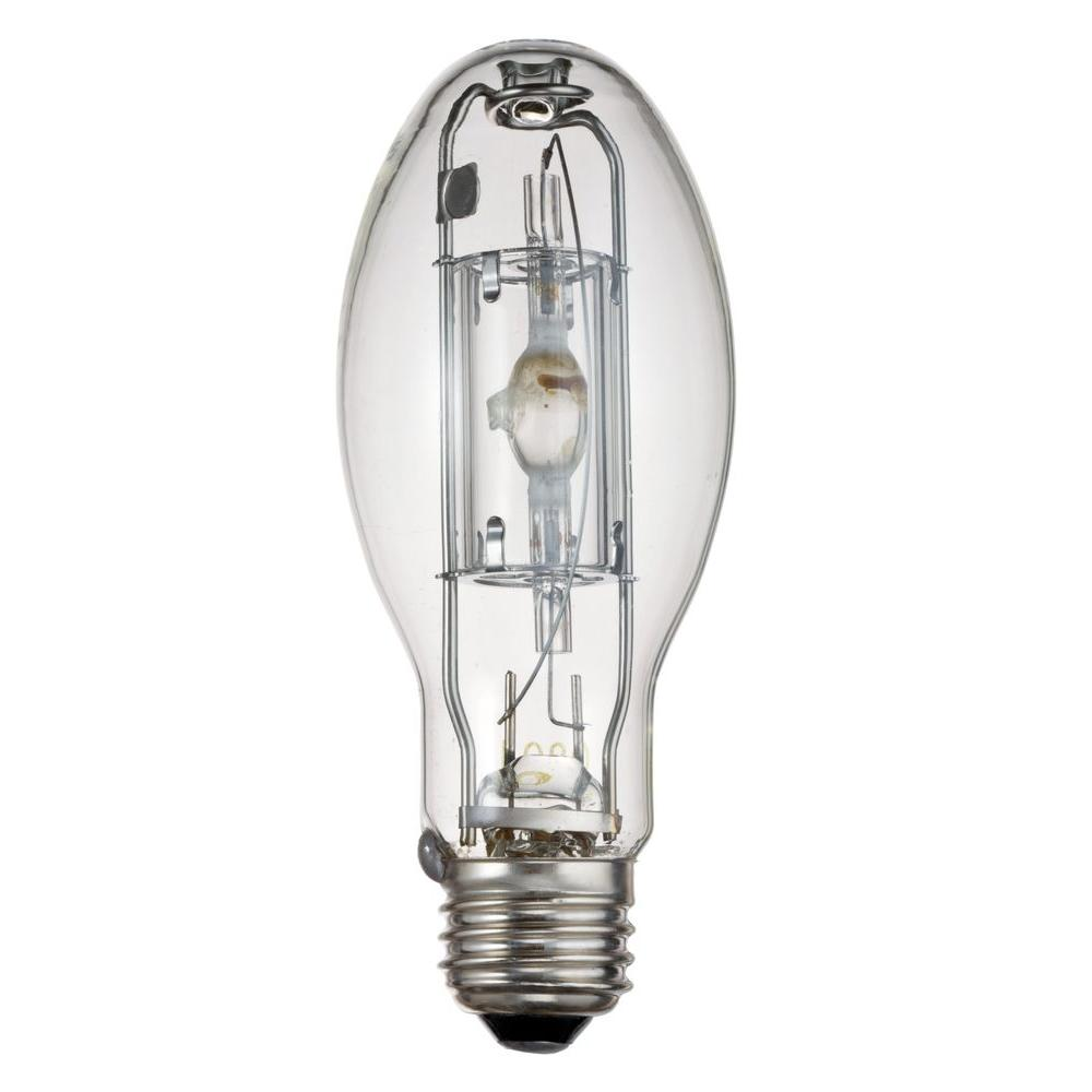 Heat Generated By Metal Halide Lamp: Lithonia Lighting 100-Watt Metal Halide Elliptical Mogul