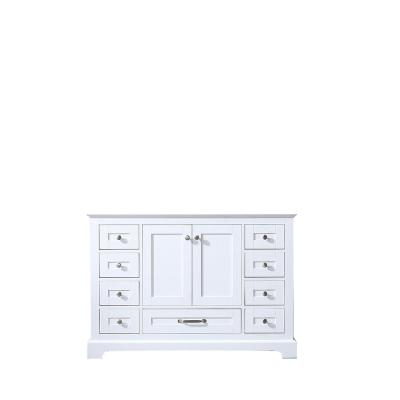 Dukes 48 in. Bath Vanity Cabinet Only in White