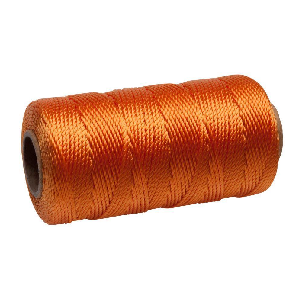 Everbilt #18 x 425 ft. Polypropylene Twisted Mason Line, Orange