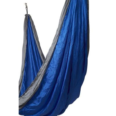 10 ft. Portable Nylon Double Camping Hammock Bed in Colibri Ben