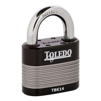 Black Series 2.5 in. High Security Armored Steel Laminated Padlock