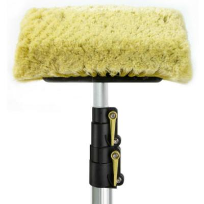 5 ft. to 12 ft. Soft Bristle Car Wash Brush and Extension Pole, 11 in. Soft Scrub Brush with 12 ft. Handle
