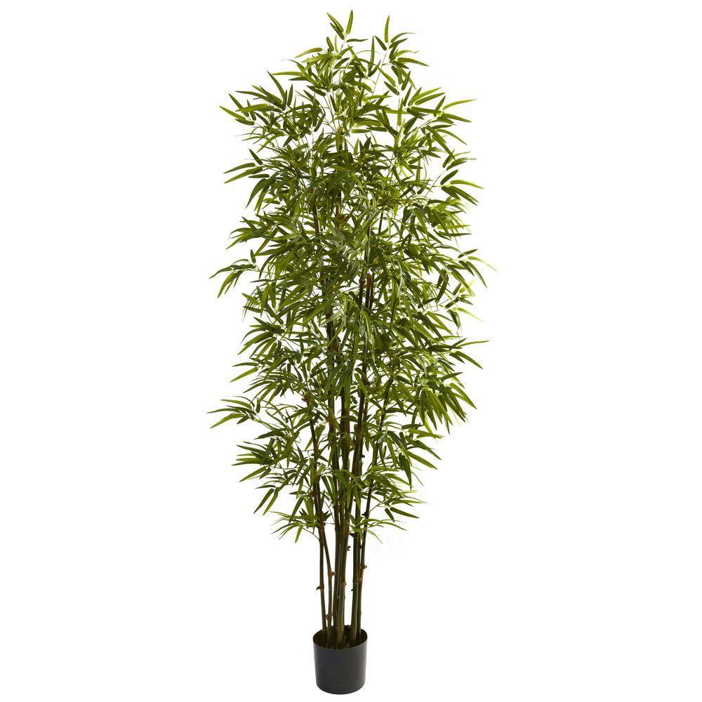 Nearly Natural 7 Ft Green Bamboo Tree
