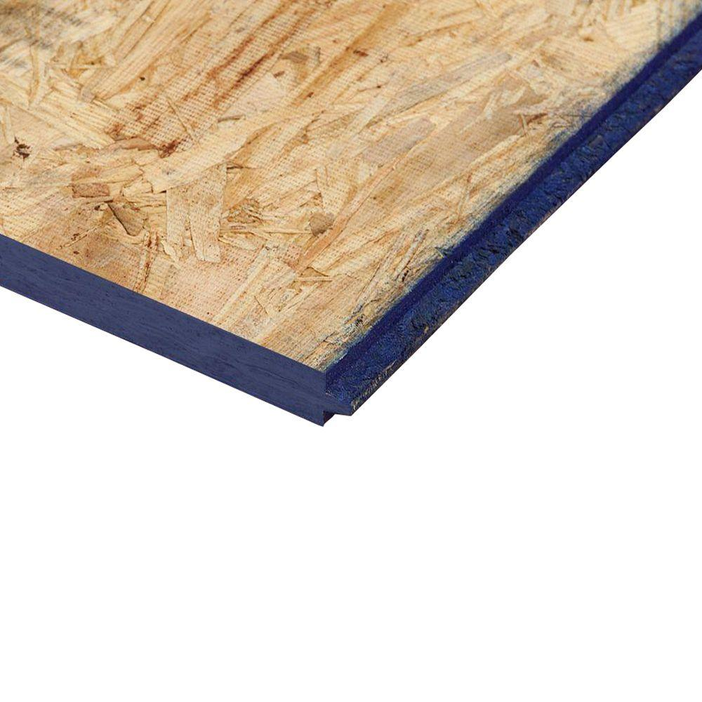 23/32 in. x 4 ft. x 8 ft. Pine Structural Engineered Oriented Strand ...
