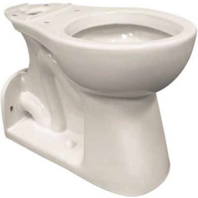 Elongated Toilet Bowl Only with Rear Outlet 0.95 GPF in White