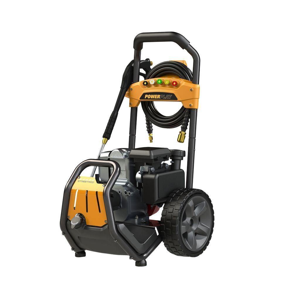 3000 psi pressure washer powerplay streetrod 3000 psi 2 5 gpm honda gc190 annovi 10169