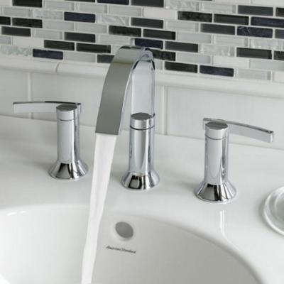 Berwick 8 in. Widespread 2-Handle High-Arc Bathroom Faucet in Polished Chrome with Speed Connect Drain