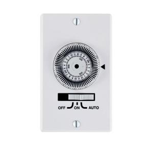 Intermatic 20 Amp Heavy Duty In-Wall Timer, White by Intermatic