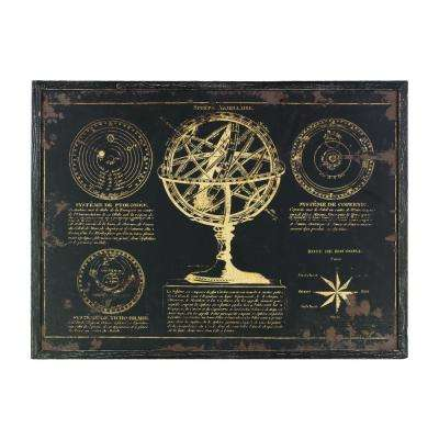 "23.50 in. x 32.50 in. ""Sphere Armillaire"" Printed Wall Art"