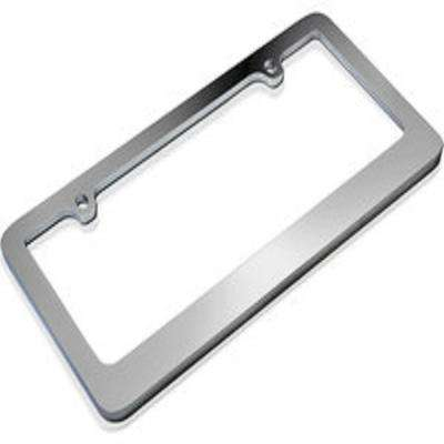 Standard Metal License Plate Frame