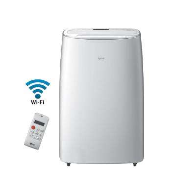 14,000 BTU (10,000 BTU, DOE), Dual Inverter, Quiet, Energy Efficient, Wi-Fi Portable AC with LCD Remote in White