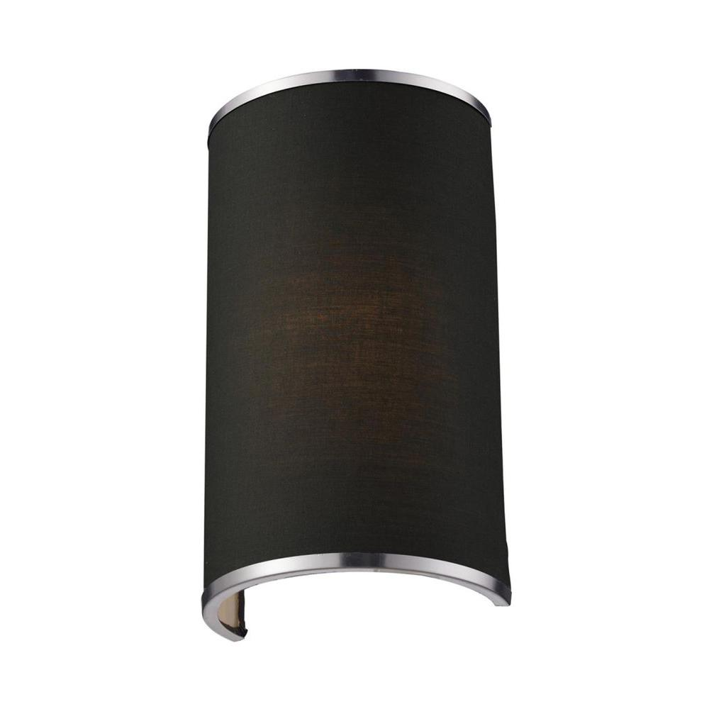 Tulen Lawrence 1-Light Brushed Nickel Incandescent Wall Sconce