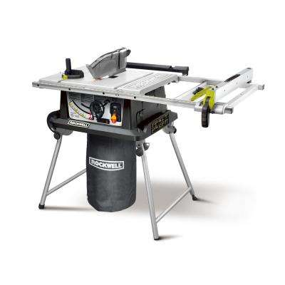15 Amp 10 in. Table Saw with Laser