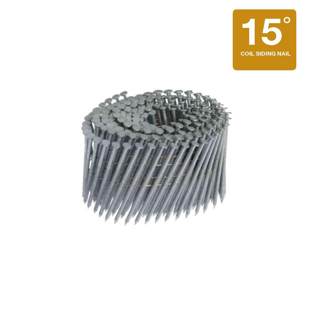 Grip-Rite 2 in. x 0.092 in. 15° Wire Collated Hot Galvanized Ring ...