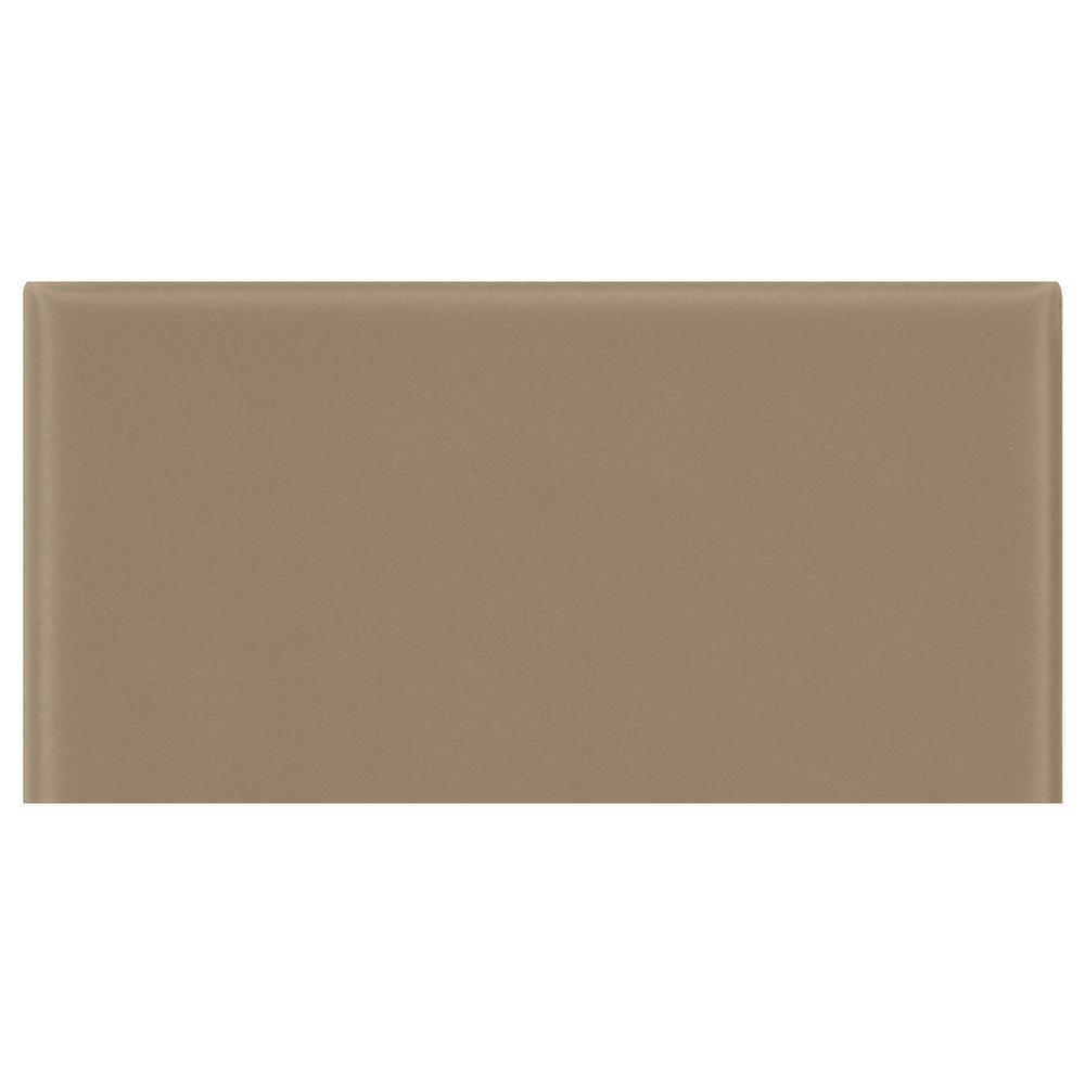 Daltile Modern Dimensions Matte Elemental Tan 4 14 In X 8 12 In