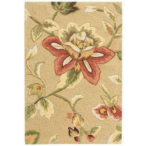 Nourison Fantasy Beige 1 ft. 9 inch x 2 ft. 9 inch Accent Rug by Nourison