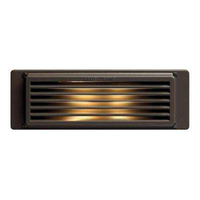 8 in. 40-Watt Bronze Step and Stair Deck Light